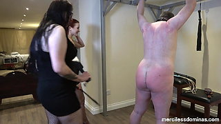 Learning New Skills - Spanking by Miss Flora and Miss Alexa