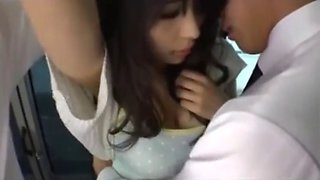 excellent japanese chikan on bus - watch pt2 on hdmilfcam.com
