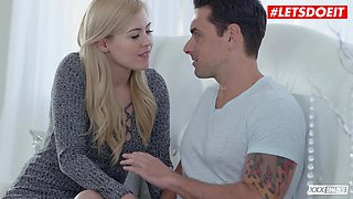 letsdoeit - passionate pussy fuck for curvy blonde summer day