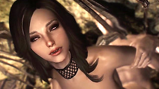 3D porn movie Vampire Milf and her big dick Hentai