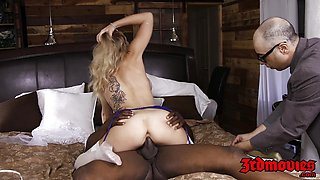 Cute Zoey Monroe taking a hole massive dick