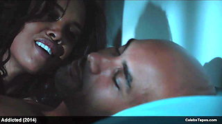 Sharon Leal naked and romantic sex video