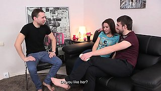 This young couple finds a perfect way to solve their