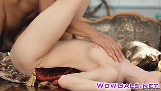 Sensual babe Momoko likes to feel hot cum in her pussy