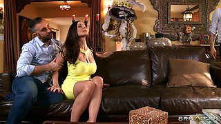 adriana chechik & kendra lust team up for keiran's huge cock