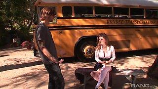 Faye Reagan - School bus girls