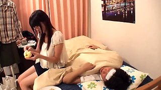 Stepsister Forces Her Little Brother 2
