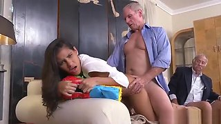 Old vintage amateur and nasty old grandpa and madison scott old dude and