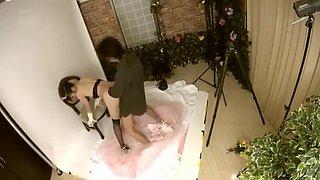 Molesting The Bride in Pre Wedding Photo Studio 3