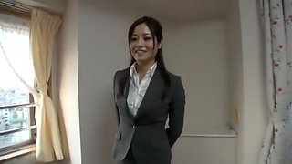Horny Japanese model Minami Asano in Incredible Facial, Stockings/Pansuto JAV video