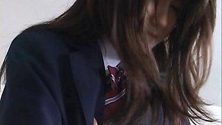 Free jav of Amazing Asian schoolgirl