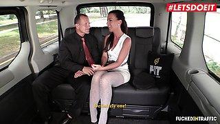 LETSDOEIT - Alicia Wild Cheats and Rides Taxi Driver