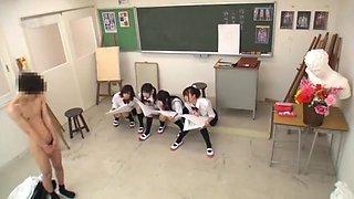 schoolgirl cfnm