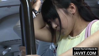 Hot Japanese Teen Fucked On The Bus