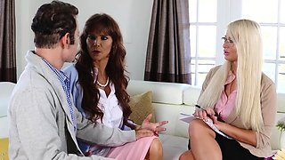 A family therapy session for Megan Holly