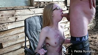 Petite nymphet used and abused