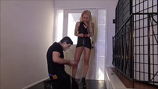 alix chained cuffed