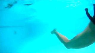 underwater flips