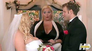 My Big Plump Wedding Part Four