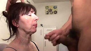 French older - ana - fisting - oral job