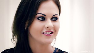 Amber Nevada dolls up for an amazing shag with a horny lover