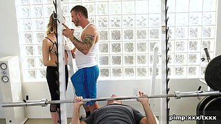 Cadence Lux  Damien Thorne  Mr Pete in Spot Me While I Workout On This Cock - CuckedXxx