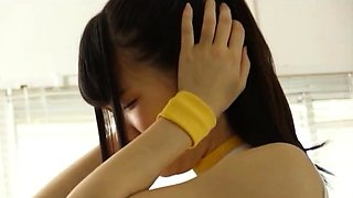 Delightful Japanese teen gets dominated by a hung monster