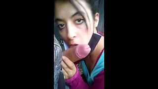 (RIsky Blowjob) Public compilation in the street, bus, forest