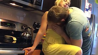 Chicks4u - Fucking Step Mom in Kitchen