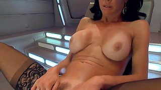 VA fuck by machine and squirt