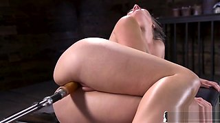 Babe Fucked by Dildo