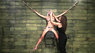 FetishNetwork Marsha May lezdom bondage