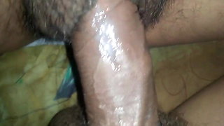 Son Fucks Mom when Home Alone, Big Pussy With Wet Dick