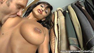 Amazing pornstars Nacho Vidal, Coral Joice in Fabulous Mature, Italian xxx scene