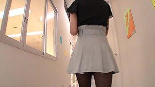 Tina Yuzuki in My Girlfriend is Teacher part 2.1