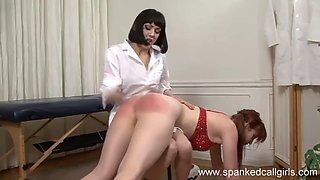 Rectal Temp and Spanking