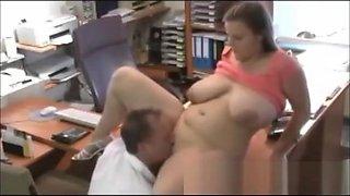 Boss Fucks Office Secretary Veronica