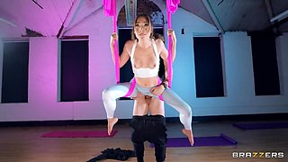 Aerial Downward Doggystyle Free Video With Lily Labeau & Danny D - Brazzers