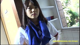 Jav Amateur Asuka Saito Gravure Teen Strips Off Her Gym Kit And Shows Her Uncensored Slit Unbelievably Cute