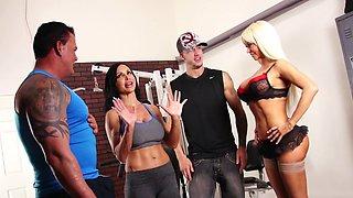 Nikita's Gym Orgy