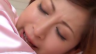 Superb Reira Aisaki receives amazing hardcore fucking