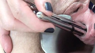 Extreme Insertions Anal Fucking Long Dildos