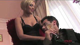 Silvia Lauren loves dressing up for her sexy Italian lover.