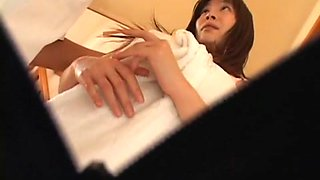 Amazing Japanese girl in Hottest Massage, Hidden Cams JAV movie