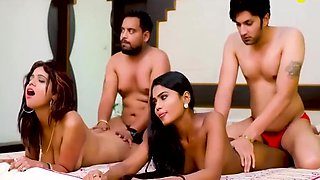 Desi Housewife Exchange And Having Swinger Sex In Hindi