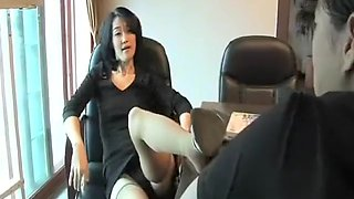 Korean foot worship 12