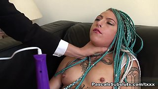 Orion in craves getting choked - PascalsSubSluts