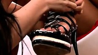 Affair from CHEAT-DATE.COM - Lez foot licking  Turkish and A