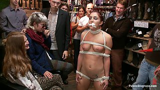 Perfect Body, Beautiful Face - First Time Public Sex and BDSM