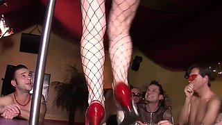 Wifeswapping group of Germans get their freak on